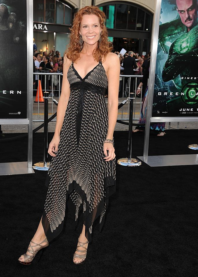 "<a href=""http://movies.yahoo.com/movie/contributor/1800042109"">Robyn Lively</a> at the Los Angeles premiere of <a href=""http://movies.yahoo.com/movie/1810166777/info"">Green Lantern</a> on June 15, 2011."