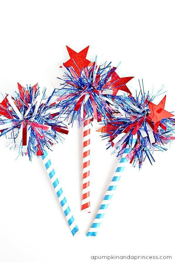 """<p>Fill thick paper straws with confetti for a fun and festive 4th of July accessory. </p><p><strong><em>Get the tutorial from <a href=""""https://apumpkinandaprincess.com/how-to-make-firework-confetti-sticks/"""" rel=""""nofollow noopener"""" target=""""_blank"""" data-ylk=""""slk:A Pumpkin and a Princess"""" class=""""link rapid-noclick-resp"""">A Pumpkin and a Princess</a>. </em></strong></p>"""