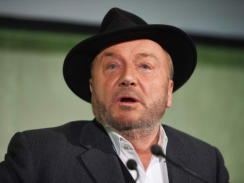 George Galloway during the EU referendum campaign: AFP/Getty