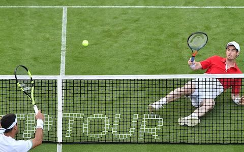 <span>Murray and his new partner shared little chemistry</span> <span>Credit: Getty images </span>