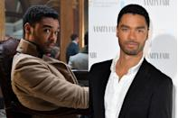 <p>Regé-Jean Page (<em>Sylvie's Love</em>, <em>For the People</em>) is the actor behind Simon Basset, Duke of Hastings—a childhood friend of Anthony Bridgerton's and one of this season's leading heartthrobs.</p>