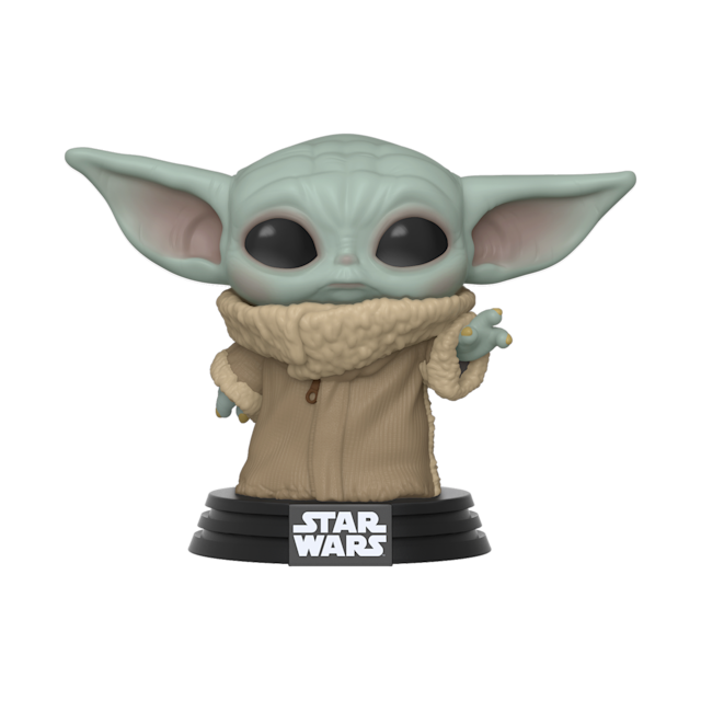 Funko's vinyl collectible is the first in a wave of officially-licensed Baby Yoda merchandise. (Photo: Funko)