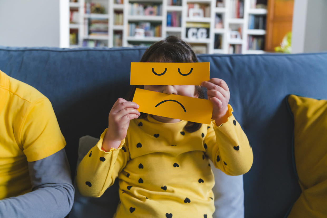 Hello Yellow is aiming to raise awareness about mental health in children. (Getty)
