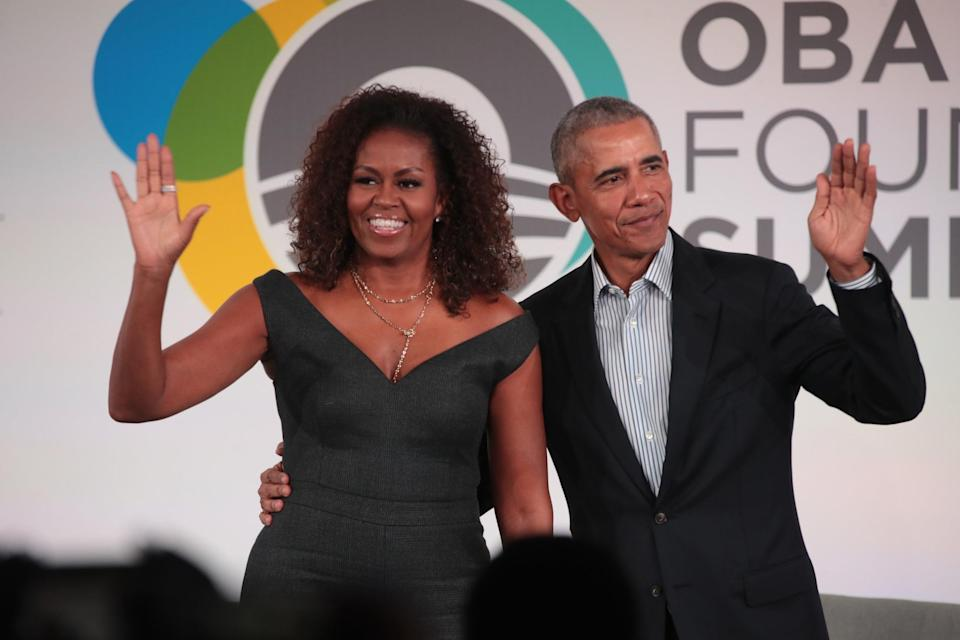 The ObamasGetty Images