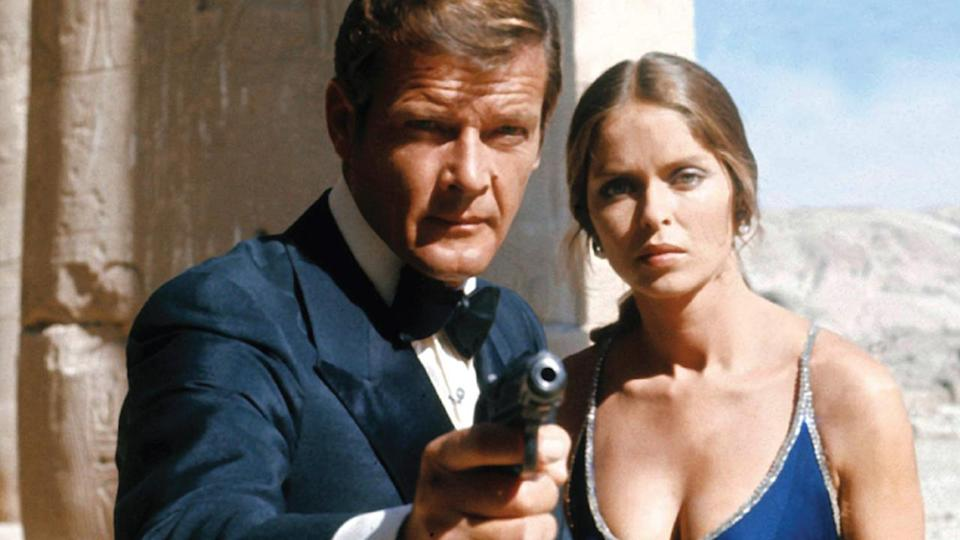 """<p> In a move that mirrors the dynamic in From Russia With Love, Bond is actually paired up with a Soviet agent - Major Anya Amasova - to investigate the disappearance of nuclear submarines from both America and Russia. The plot is as mad as a bag of badgers - mad scientist Karl Stromberg is attempting to use the nuclear subs to start WW3 between the East and West, which he plans to survive by living underwater in his 'lair' known as Atlantis. This is a movie with Jaws in it, too, so there's definite excess and silliness. Despite it all, though, the core characters play well together. Stromberg is a decent villain, who gives us the """"feed him to the sharks"""" trope that has been synonymous with Bond since, and Amasova is a good female counter to Bond. Sure, it's a stretch to use the word equality, and she inevitably succumbs to 007's charms, but there's enough substance to the Russian Major to make her a positive figure in the universe. The final showdown in the submarine base, as US and Soviet sailors join forces - completing the message of collaboration - is a good one, and the ending scene with our James and Amasova getting cosy in the Atlantis escape pod is classic, classic Bond. And the theme tune is by far my favourite, so massive thumbs up for that. </p> <p> <strong>Bond:</strong> Roger Moore<br> <strong>Theme tune:</strong> Nobody Does it Better by Carly Simon </p>"""