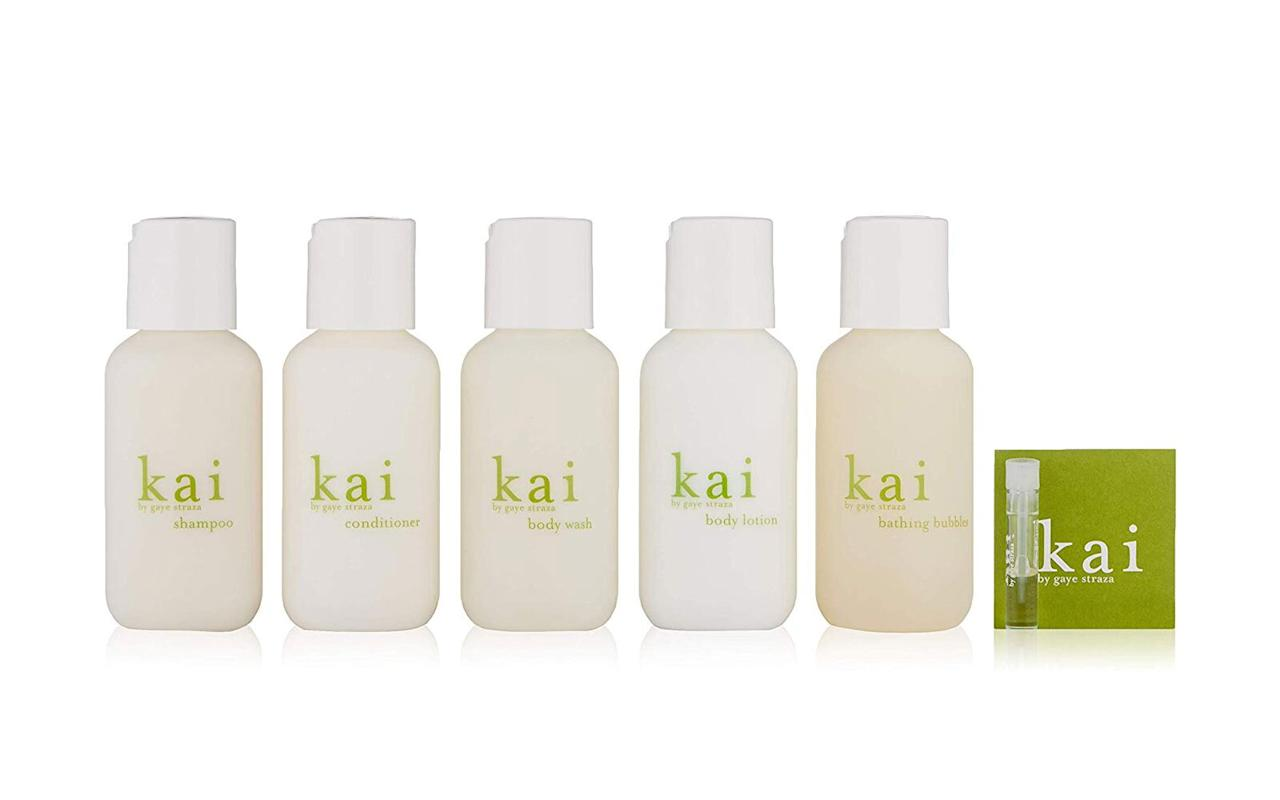 "<p>""While living in Hawaii, I exclusively wore the signature kai scent, which I always bought from the same boutique in Haleiwa. Since discovering that I'm able to get kai from a multitude of my favorite boutiques in New York as well as online, the delicately tropical scent follows me wherever I go. This little toiletry set has everything I need for any trip in one small, cute case, including the signature scent oil (which lasts forever, trust me). I took the set with me to Paris last month and got countless compliments!"" – <em><a href=""https://www.instagram.com/kendall.cornish/"">Kendall Cornish</a>, Associate Digital Editor </em></p> <p>To buy: <a href=""https://www.amazon.com/Kai-Perfume-Travel-Set/dp/B00VTRYB1C/ref=as_li_ss_tl?ie=UTF8&linkCode=ll1&tag=tltrvproductsoureditorslovedthismonthtlstaffjan20-20&linkId=90f002ea53ef3be6490c582d804de6c0&language=en_US"">amazon.com</a>, $49</p>"