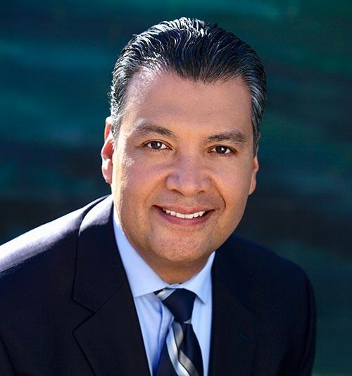 Secretary of state Alex Padilla will fill the incoming vice president's seat in the Senate (State of California)