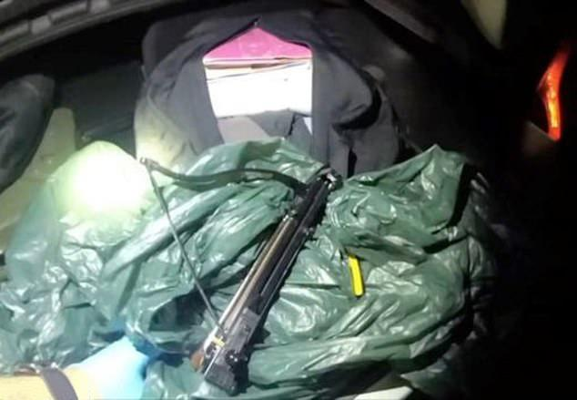 "The so-called ""murder kit"" found in Baddeley's car. (Gwent Police/Wales News)"