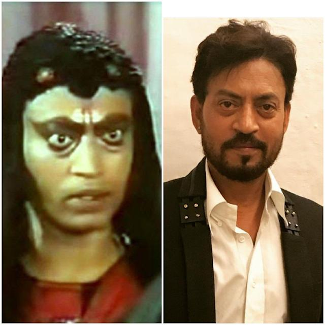 Oh that weird make up of Badrinath from <em>Chandrakanta</em>! Irrfan Khan has come a long way since the days of dramatic eye make-up. Though not like the chocolate boys Shahid or Ranbir Kapoor of Tinsel town, the actor cuts a handsome figure that many regular Indian men find relatable. With acting that is so natural and effortless, in the jungle of Shah Rukh-Aamir-Salman-Saif, this Khan too has somehow found a ground for himself.