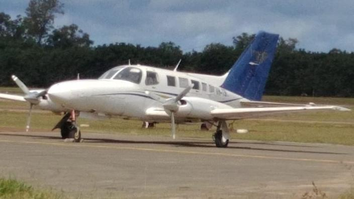 Police said the plane had flown to Papua New Guinea from North Queensland