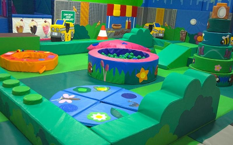 Your kids are unlikely to learn much about modern art during a soft play session, but don't let that deter you