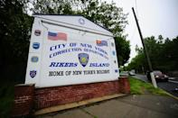 A view of the entrance to Rikers Island penitentiary complex in 2011 (AFP/EMMANUEL DUNAND)