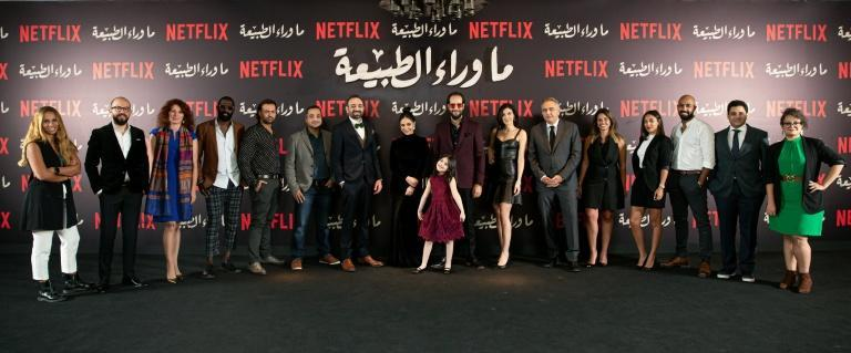 Cast and crew of 'Paranormal', which is now streaming on Netflix in nine languages in around 190 countries