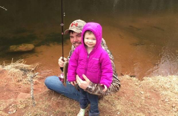 Adults have to pay for an angling licence, but children can fish for free. (Fish and Wildlife PEI/Facebook - image credit)