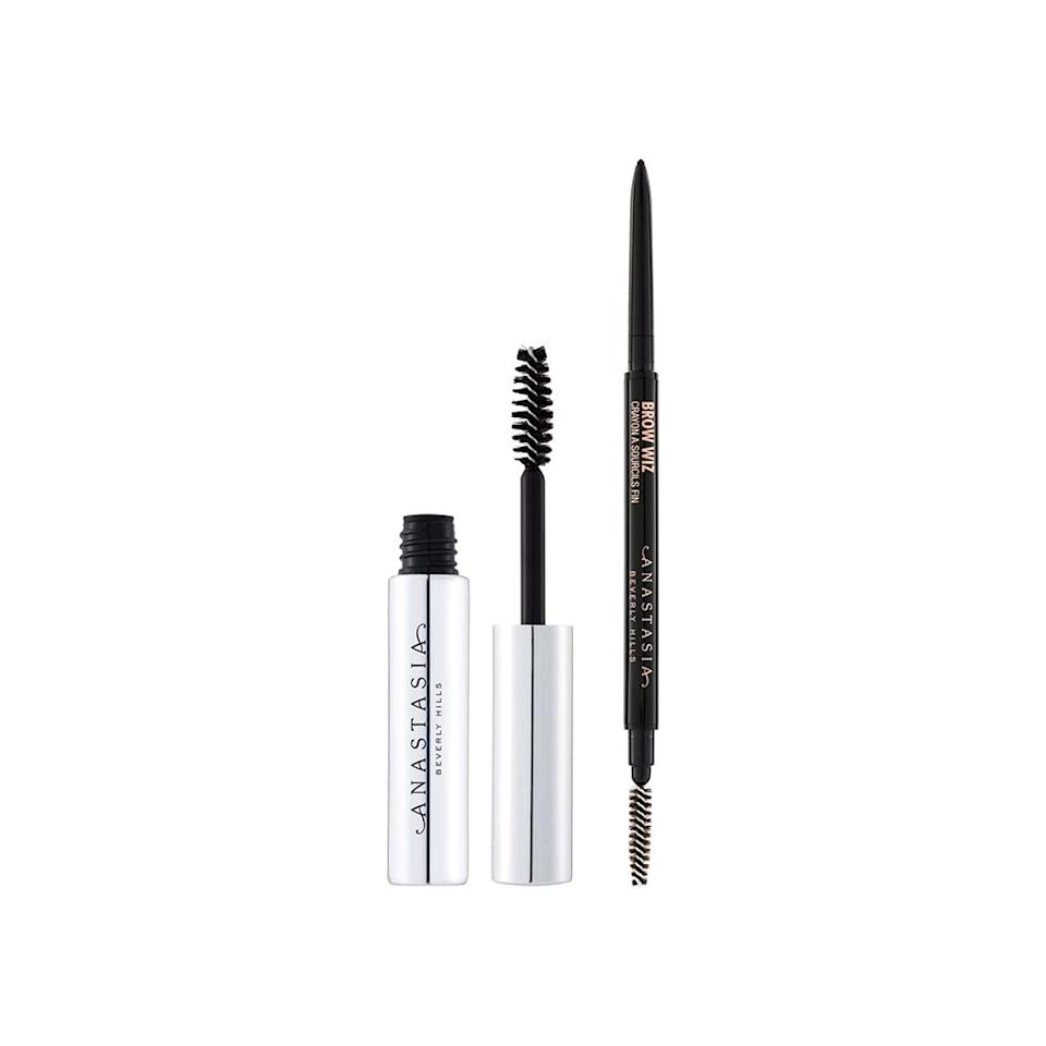 """<p>You'll get two for the price of one with this <a href=""""https://www.self.com/gallery/products-for-killer-brows?mbid=synd_yahoo_rss"""">brow</a> gel and pencil set that comes in three different shades.</p> <p><strong>Buy it:</strong> $25 ($43 value), <a href=""""https://click.linksynergy.com/deeplink?id=40vMHOk88JI&mid=1237&murl=https://shop.nordstrom.com/s/anastasia-beverly-hills-brow-duo-43-value/4919319?origin=category-personalizedsort&breadcrumb=Home%252FAnniversary%2520Sale%252FWomen%252FBeauty%2520Exclusives&color=taupe&u1=nordstromanniversarybeauty"""" rel=""""nofollow"""">shop.nordstrom.com</a></p>"""
