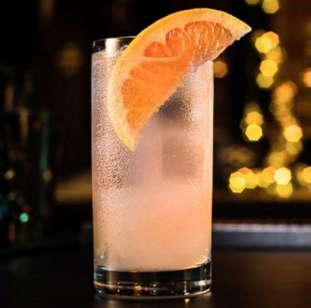 PHOTO: The 'Playful Paloma' is a sweet grapefruit cocktail perfect for Valentine's Day. (Avion Tequila )