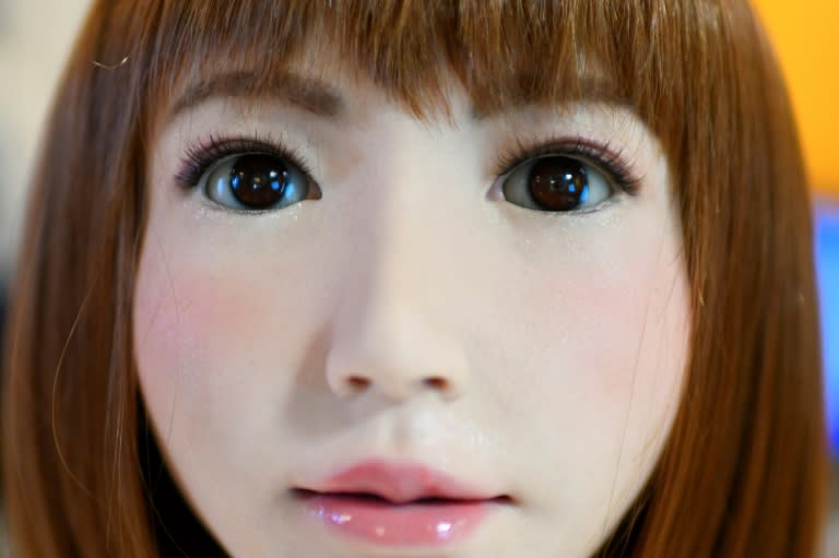 How comfortable will we feel surrounded by autonomous humanoids? (AFP Photo/GABRIEL BOUYS                    )