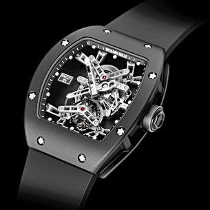 Richard Mille RM027 Tourbillon - The tennis ace's bespoke Richard Mille RM027 Tourbillon is so light it actually floats on water. It is also so technologically advanced that it makes the USS Enterprise look like a Stone Age artefact.