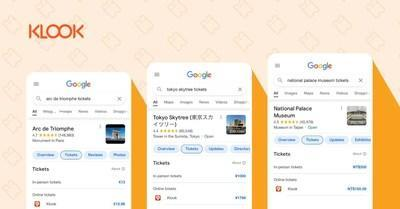 Klook Integrates with Google, Enables Operators to Feature as an Official Site Listing on Things to do