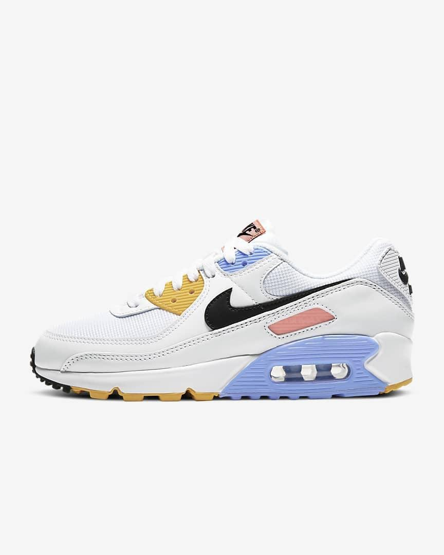 <p>These <span>Nike Air Max 90 Sneakers</span> ($120) make the perfect stylish companion for walks, biking and other high-impact workouts. They are designed for comfort and durability.</p>