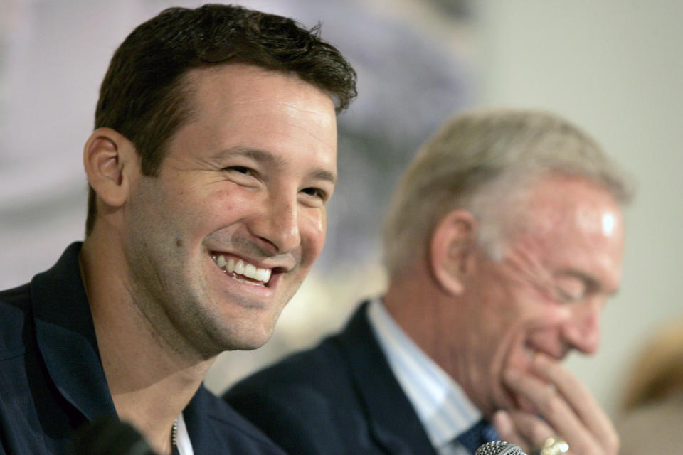 Tony Romo knows how Jerry Jones does business. (Reuters)