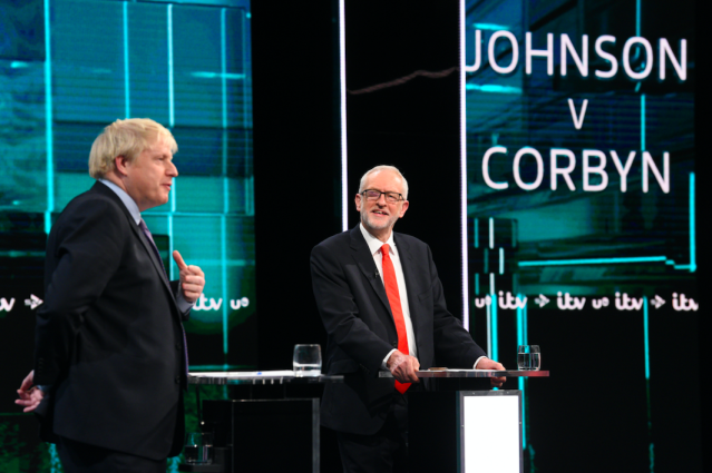 """The Christmas General Election was finally granted when Parliament essentially came to a standstill over Brexit. Boris Johnson was always favourite to win but <a href=""""https://uk.news.yahoo.com/exit-poll-result-uk-election-2019-220211224.html"""" data-ylk=""""slk:no one expected the landslide victory;outcm:mb_qualified_link;_E:mb_qualified_link;ct:story;"""" class=""""link rapid-noclick-resp yahoo-link""""><strong>no one expected the landslide victory</strong></a> over Labour that saw Jeremy Corbyn announce his attention to stand down in 2020. (Getty)"""