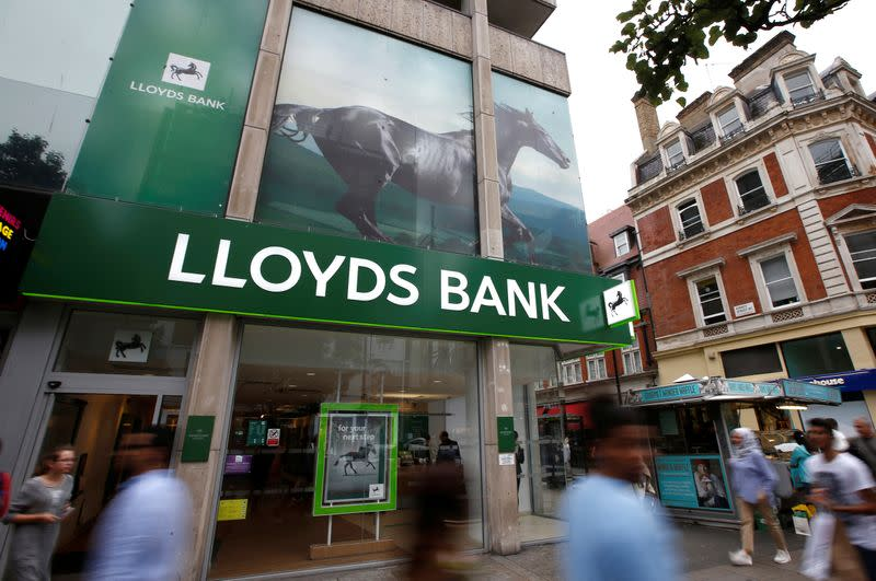 Britain's Lloyds Banking Group suffers hours-long online outage