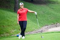 Since retiring from golf, Pak Se-ri has built successful new careers on television and in business (AFP/Anthony WALLACE)