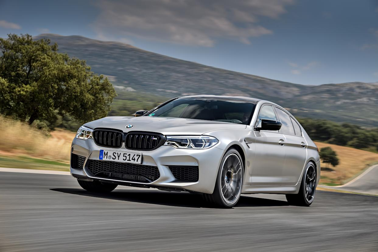 The Competition receives a range of upgrades over the regular M5