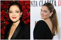 <p>Metallic eyes and berry-bright lips were a mainstay in the '90s and early '00s, and Drew rocked them like no other. But the warmer, more neutral tones that the Flower beauty founder wears now are to die for. </p>