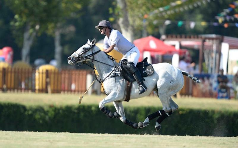 Ben Soleimani, pictured, will be joined by Argentine star Adolfo Cambiaso this summer - Copyright: Tony Ramirez/www.imagesofpolo.com