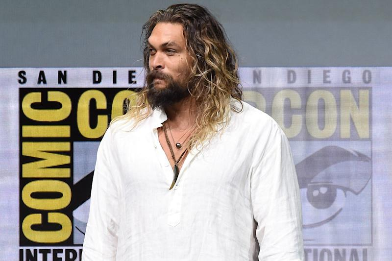 Sorry: Actor Jason Momoa has apologised: Kevin Winter/Getty