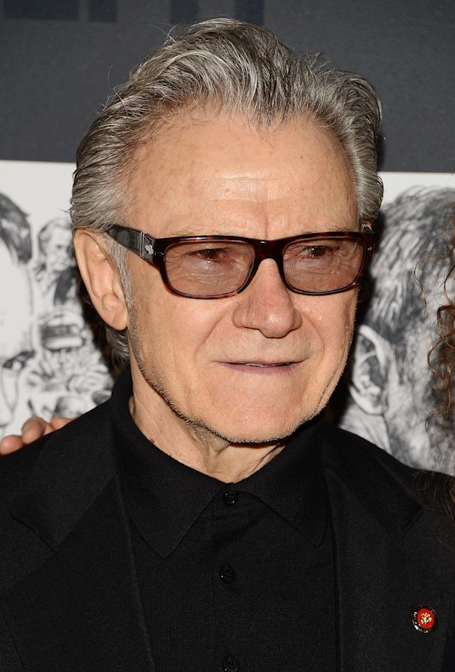 NEW YORK, NY - DECEMBER 03:  Actor Harvey Keitel attends The Museum of Modern Art Film Benefit Honoring Quentin Tarantino at MOMA on December 3, 2012 in New York City.  (Photo by Andrew H. Walker/Getty Images)