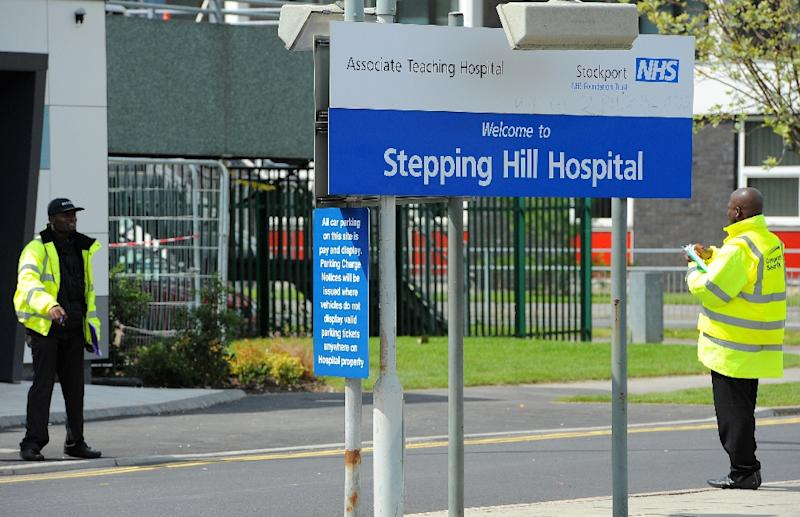 Victorino Chua poisoned 21 patients with insulin at Stepping Hill Hospital near Manchester (AFP Photo/Andrew Yates)