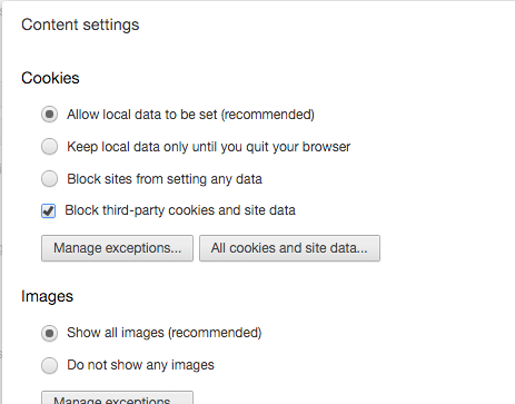 How to delete cookies in chrome firefox safari and internet chromecookiessettings ccuart Images