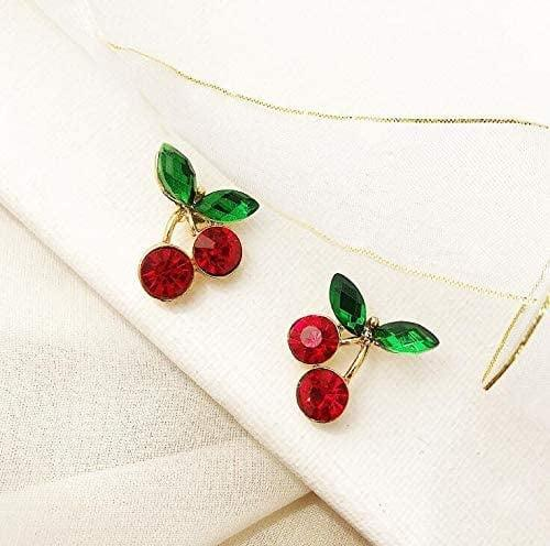 <p>These <span>Cherry Stud Earrings</span> ($7) bring the right amount of polish.</p>