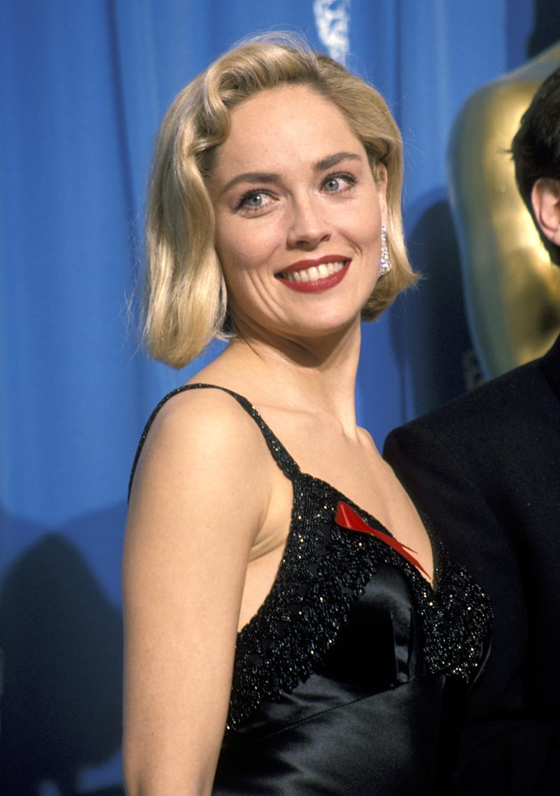 Sharon Stone (Photo by Jim Smeal/Ron Galella Collection via Getty Images)