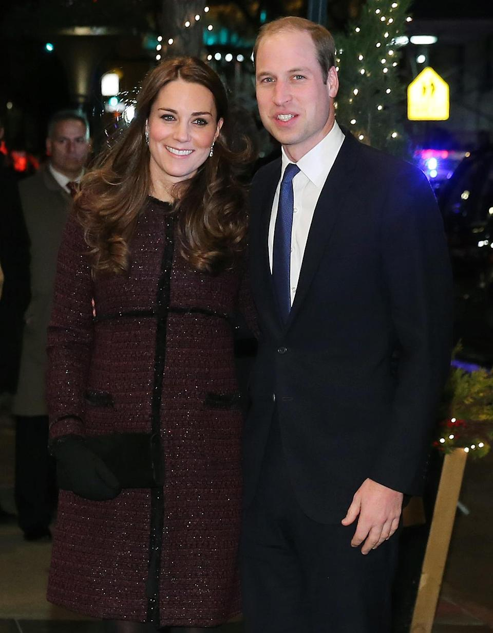 <p>In December 2014, the Duke and Duchess of Cambridge, Prince William and Kate Middleton, bundled up to brave the New York winter while on their first official visit to the city. </p>