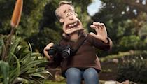 <p>Aardman animator and Oscar-winning director Nick Park has a brilliant cameo in 'Shaun' - there's no mistaking him as the birdwatcher who is attacked by a pair of ducks. Brilliantly, the scene's also a nod to Alfred Hitchcock's 'The Birds' and Hitch's preference of cameoing in his own films.<br></p>