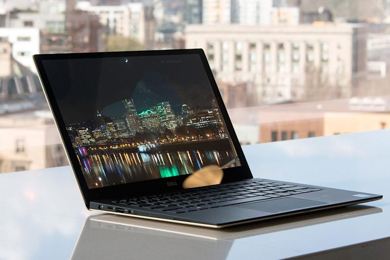 best ultrabooks dell xps 13 gold 2016 front angle 2 1500x1000