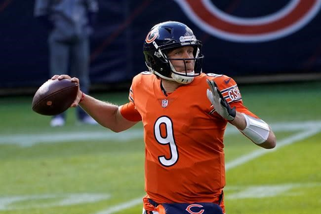 No rally this time as Foles struggles, Bears lose to Colts