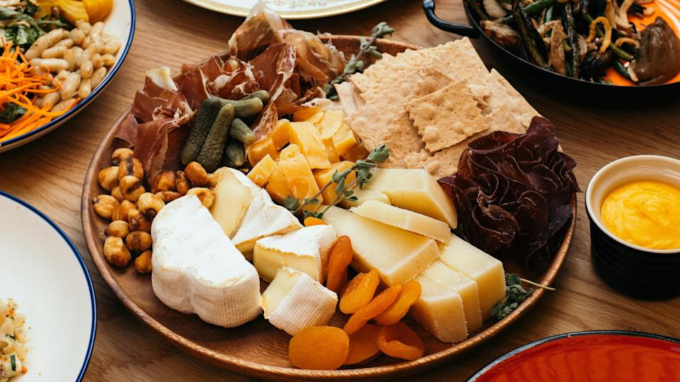 A cheese board from Agnes - Credit: Courtesy Agnes/Stefan Merriweather