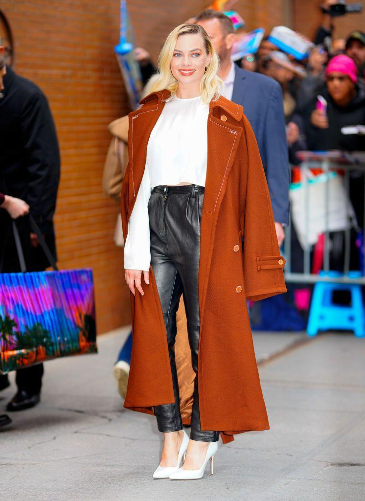 <p>Number three of the Birds Of Prey star's outfit marathon wore Acne Studios and Magda Butrym for her appearance on The View.</p>