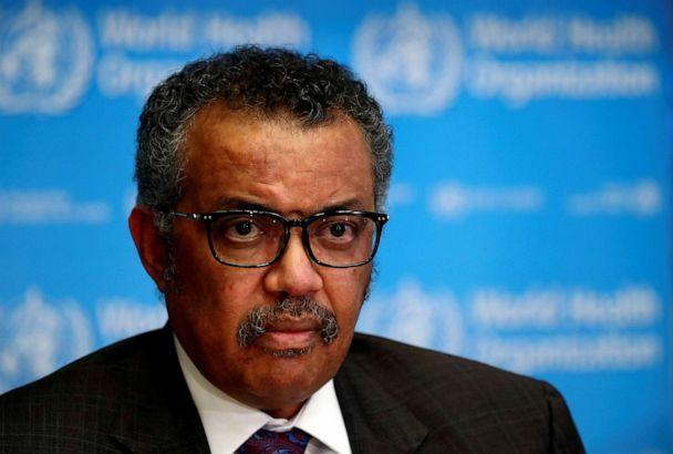 PHOTO: The World Health Organization director-general Tedros Adhanom Ghebreyesus attends a news conference on the situation of the novel coronavirus, in Geneva, Switzerland, on Feb. 28, 2020. (Denis Balibouse/Reuters)
