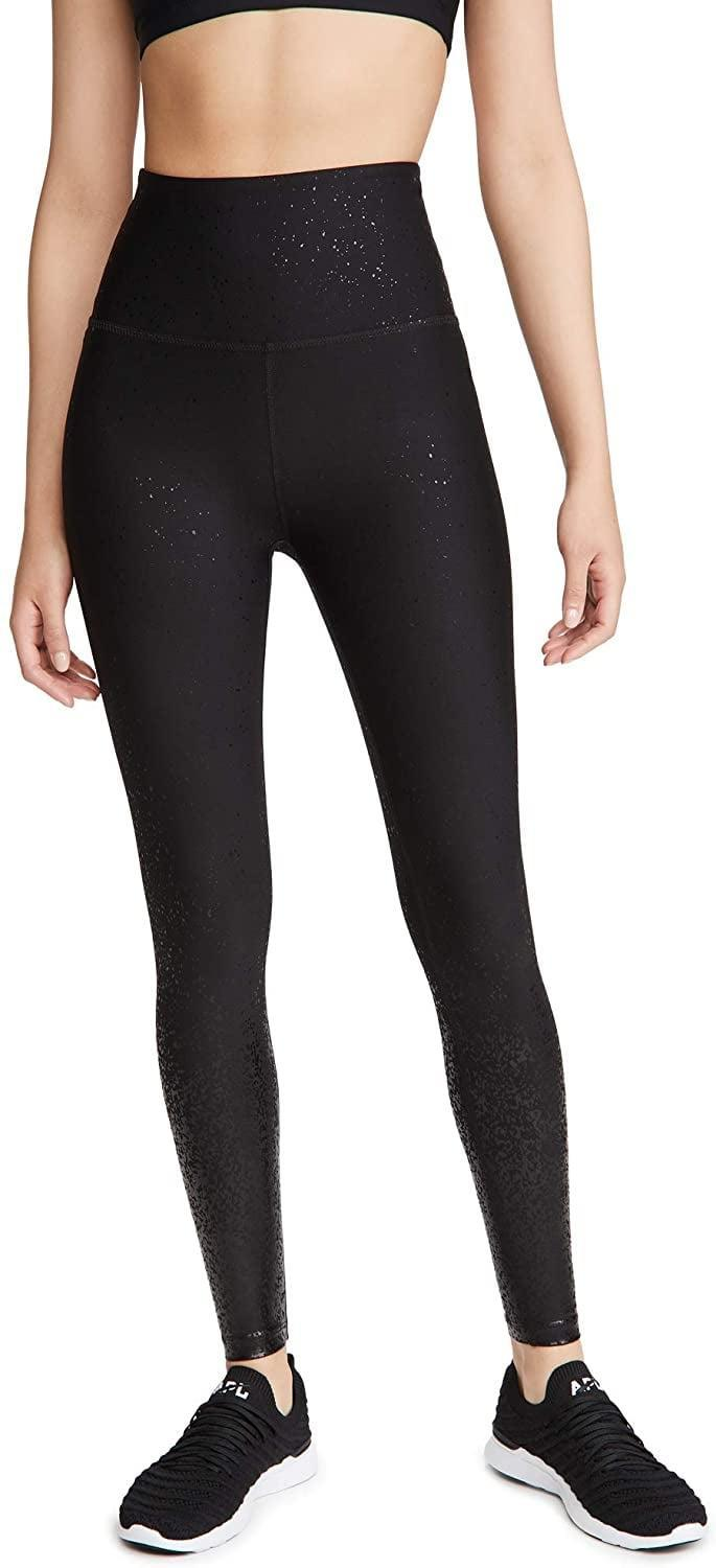 <p>If you like black leggings but still want a little sparkle, go for these standout <span>Beyond Yoga Alloy Ombre Sport Flex High Waist Midi Leggings</span> ($94, originally $110).</p>