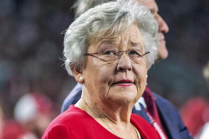 """Alabama Gov. Kay Ivey criticized the president's plan for being overly expensive and said the federal government """"could learn a thing or two"""" from her state."""