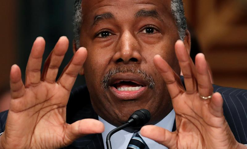Secretary of the Department of Housing and Urban Development Ben Carson has unveiled proposalsthat aim to raise rents for low-income families. (Kevin Lamarque / Reuters)