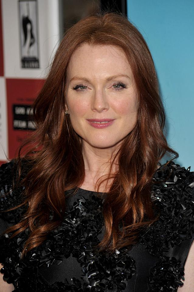 "<a href=""http://movies.yahoo.com/movie/contributor/1800020233"">Julianne Moore</a> at the Los Angeles Film Festival premiere of <a href=""http://movies.yahoo.com/movie/1810093978/info"">The Kids Are All Right</a> - 06/17/2010"