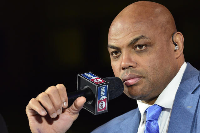 Charles Barkley called B.S. on Kyrie Irving's proclamations about leadership. (Getty)