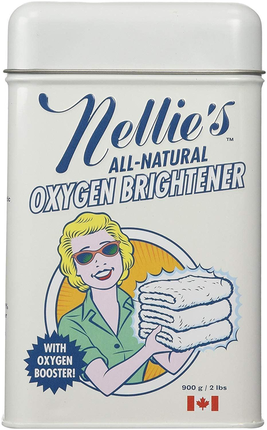 <p>Leave your dingy, worn-out clothes feeling fresh with <span>Nellie's Oxygen Brightener Powder Tin</span> ($16).</p>